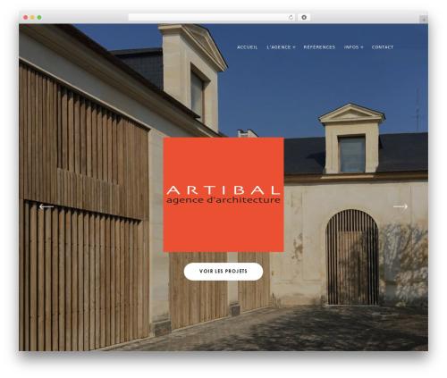 Mies WordPress theme - artibal.fr