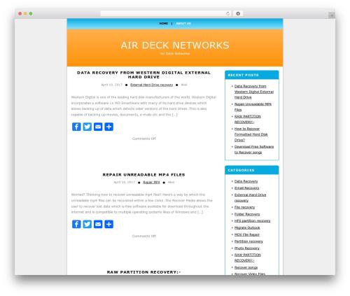 onenine3 WP template - airdrigh.com