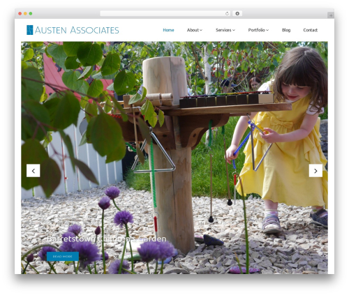 Pitch garden WordPress theme - austenassociates.ie