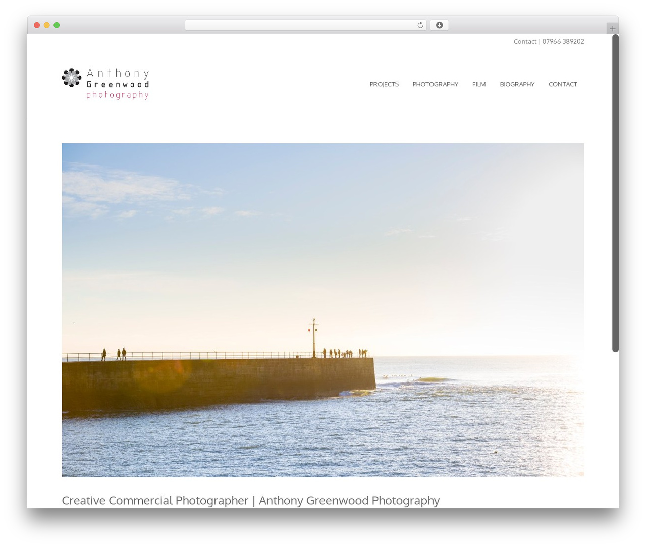 River WordPress template for photographers - anthony-greenwood.com
