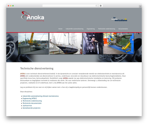 Stack theme WordPress - anoka.nl