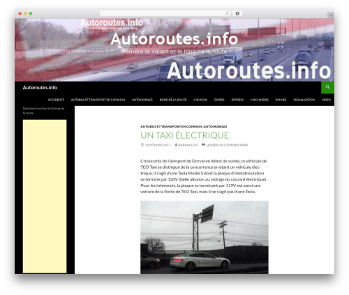 Free WordPress Meta Widget Customizer plugin - autoroutes.info