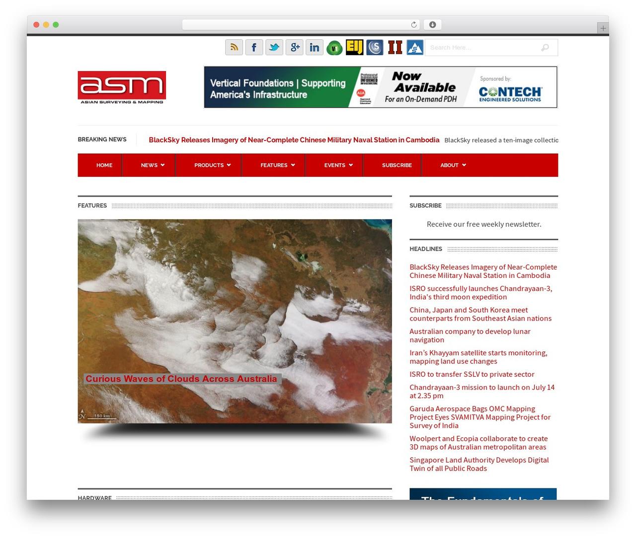 UrbanNews newspaper WordPress theme - asmmag.com