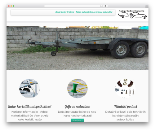 Customizr theme WordPress - autoprikolica.eu