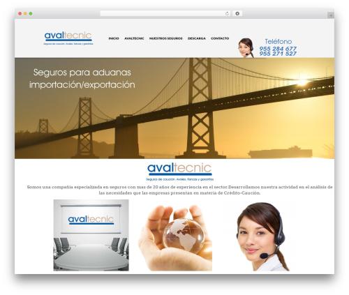 The Retailer (Shared on MafiaShare.net) WordPress website template - avaltecnic.es