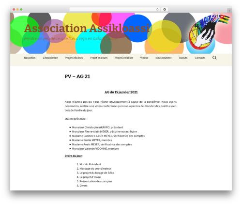Twenty Thirteen WordPress theme download - assikloassi.com