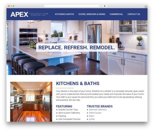 You WordPress theme - apexremodeling.com