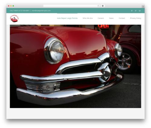 Avada WordPress template - autopaintersplus.com