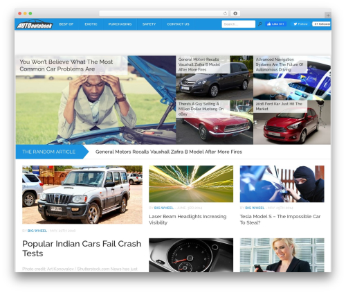 Codilight best WordPress theme - autonotebook.com