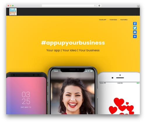 Massive Dynamic company WordPress theme - appupyourbusiness.com