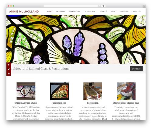 Minimum Pro WordPress theme - anniemulholland.com