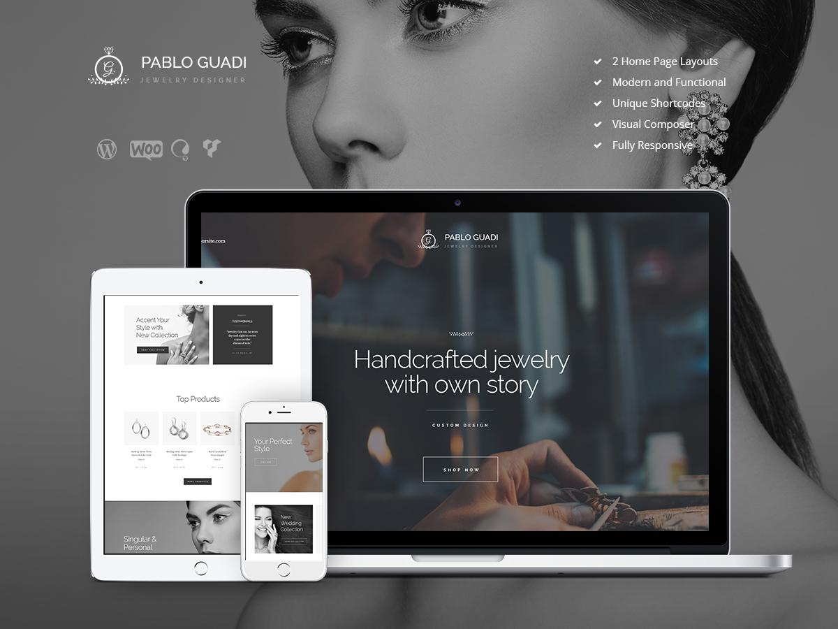 PabloGuadi WordPress blog theme