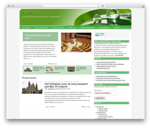 Theme WordPress Billions - avmv.nl/nl