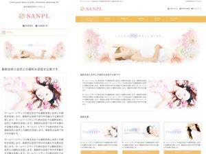 WordPress website template responsive_219