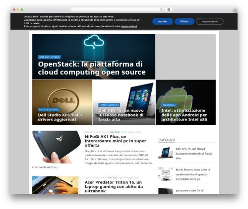 WP template ADMAG - arduer.com