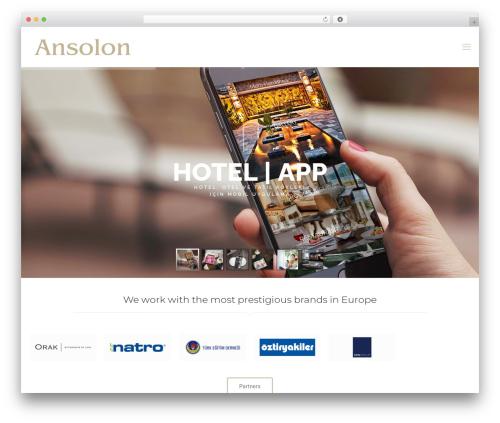Betheme WordPress theme - ansolon.com