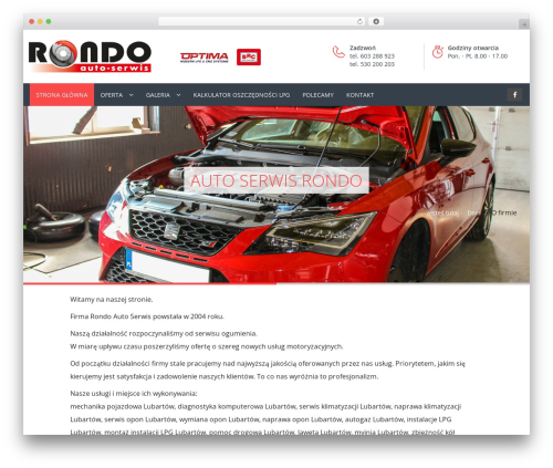 Carshire WP template - asrondo.pl