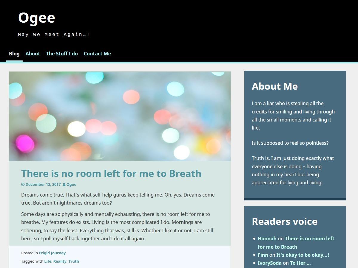 Ogee WordPress news theme
