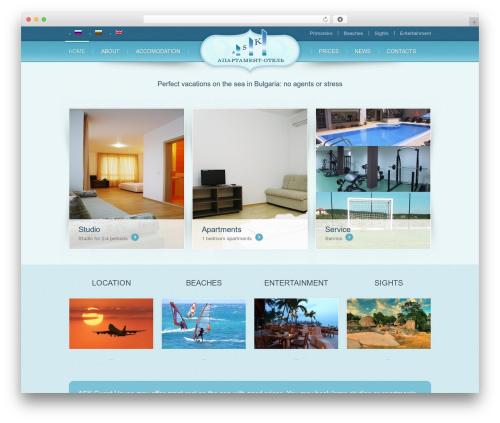 theme1804 best hotel WordPress theme - ask-hotel.ru