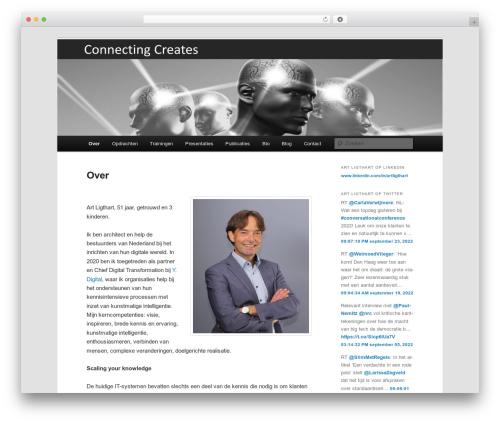 Twenty Eleven WordPress template free download - artligthart.nl