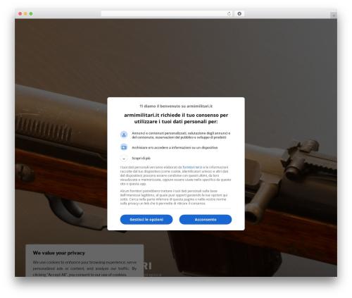 Free WordPress All For Adsense plugin - armimilitari.it/wordpress