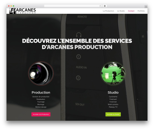 WordPress popup-press plugin - arcanes-production.com