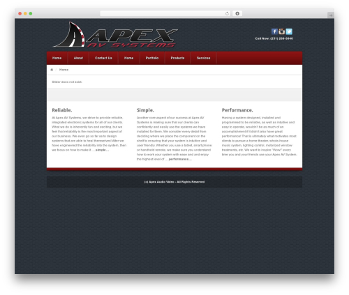 Akita theme WordPress - apexavs.com