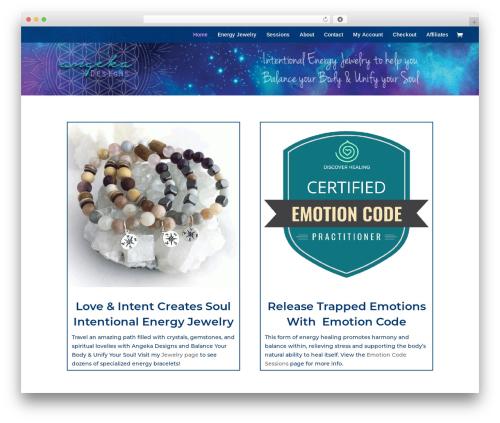 Divi top WordPress theme - angekadesigns.com