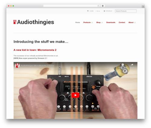 WordPress wc-aelia-foundation-classes plugin - audiothingies.com