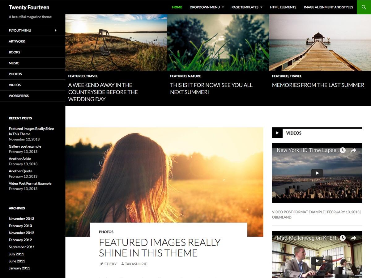 Theme WordPress ary