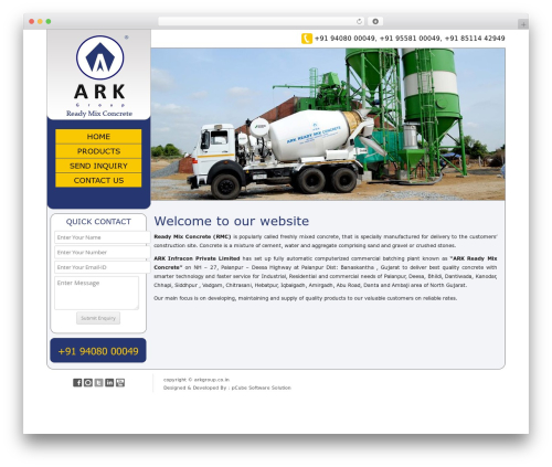 Twenty Twelve template WordPress free - arkrmc.arkgroup.co.in