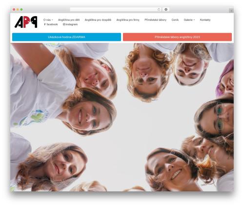 WordPress theme neve - anglictinapraha9.cz