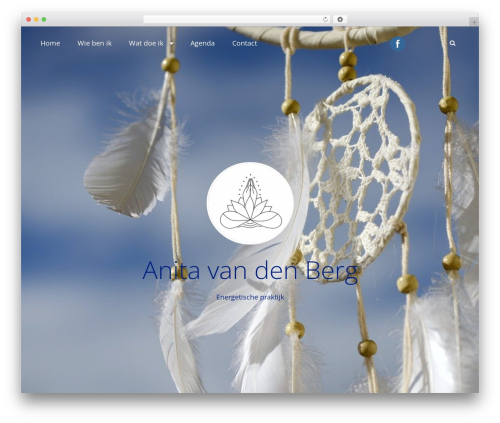 Adonis WordPress website template - anitavandenberg.nl