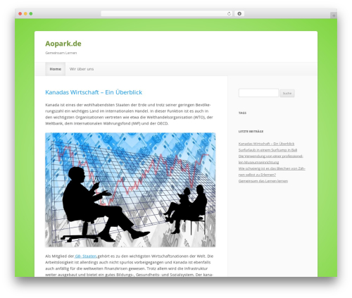 ColorLight WordPress page template - aopark.de