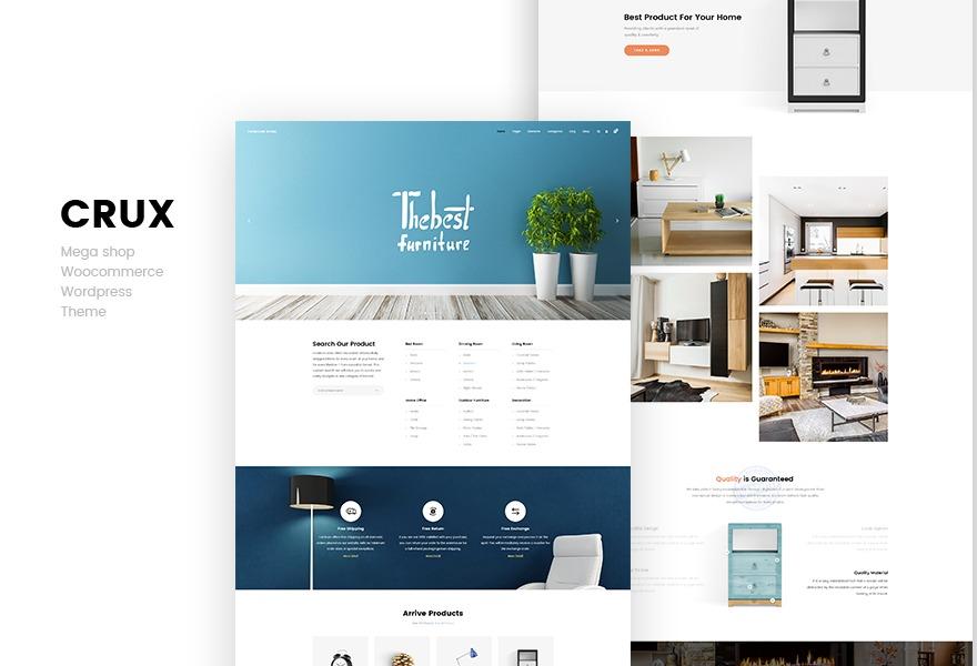 CruxStore WordPress ecommerce theme