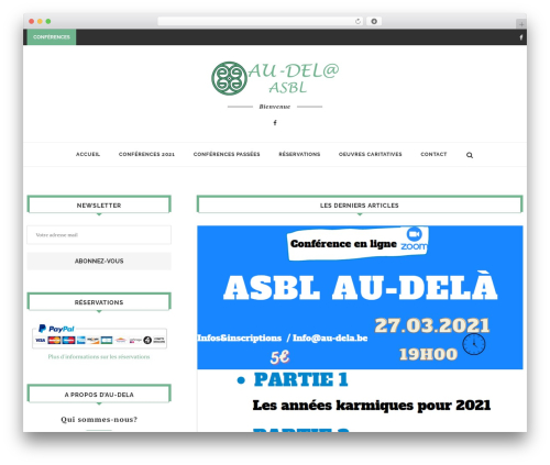 soledad template WordPress - au-dela.be