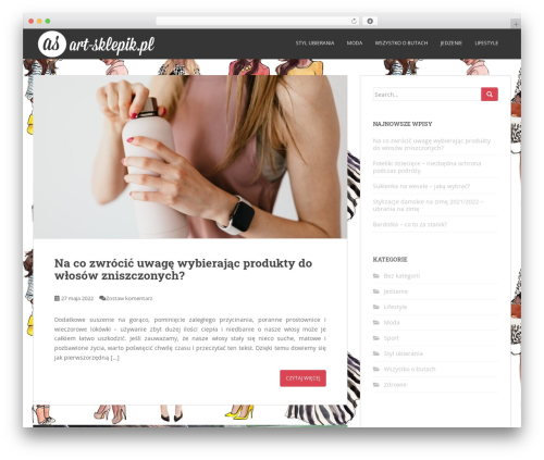 Sparkling free website theme - art-sklepik.pl