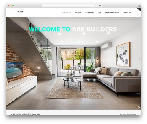 WordPress theme Avada - ark.builders
