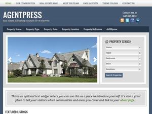 AgentPress Child Theme WordPress theme design