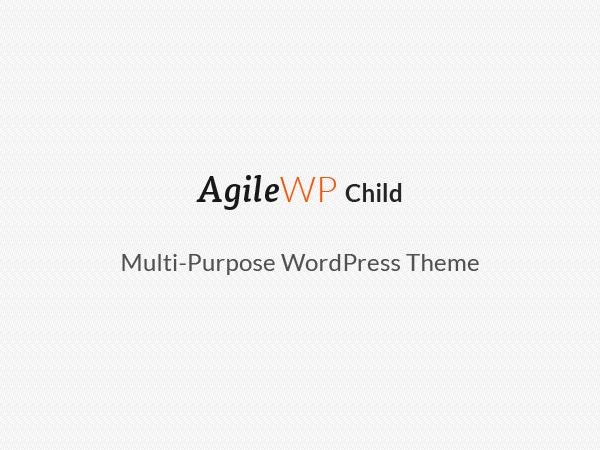 Agile Child WP theme