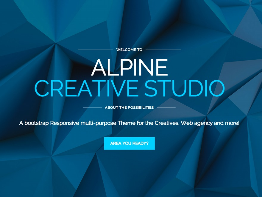 Alpine best WordPress theme