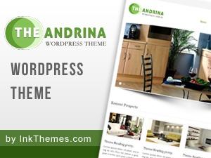 Andrina Theme Pro best WordPress gallery