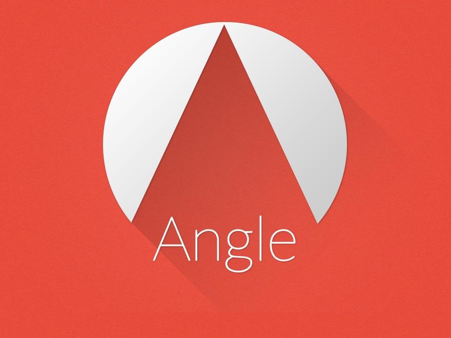 Angle WordPress page template