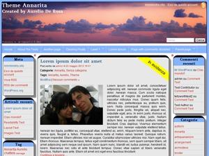 Annarita wallpapers WordPress theme