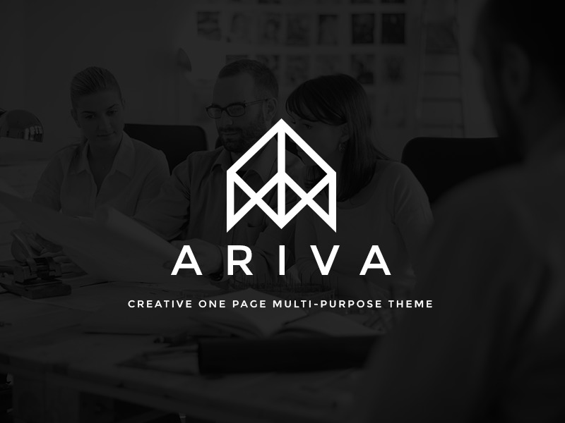 ARIVA company WordPress theme
