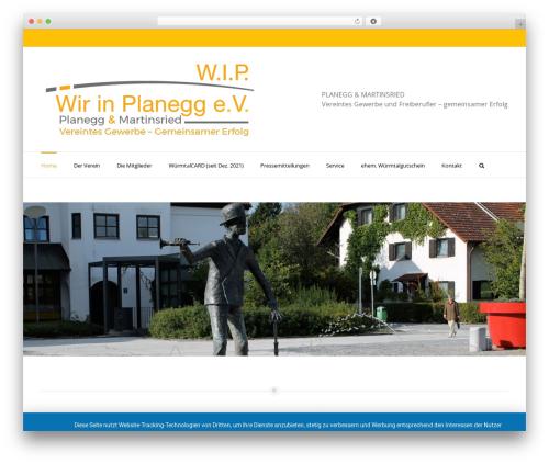 Avada theme WordPress - wir-in-planegg.de