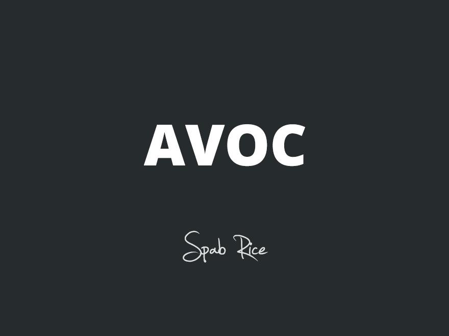 Avoc personal blog WordPress theme