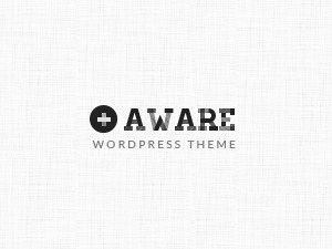 Aware theme WordPress portfolio