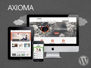 Axioma company WordPress theme