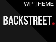 Backstreet newspaper WordPress theme